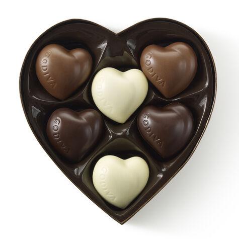 6 pc. Heart Gift Box - Small