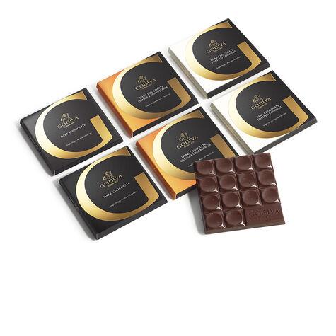 G by Godiva Dark Chocolate Lovers Gift Set, Set of 6, 2.7 oz. each