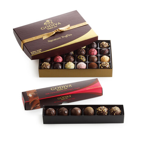 Milk Chocolate Truffle Lover's Gift Set