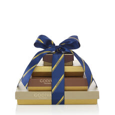 Sweet Surprise Gift Tower, Striped Tie Ribbon