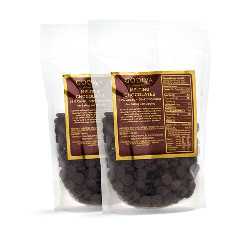 Dark Chocolate Baking Chocolates, Set of 2, 12 oz. each