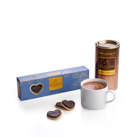 Dark Chocolate Biscuit and Dark Cocoa Gift Set