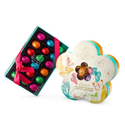 Spring Flowers Chocolate Gift Set