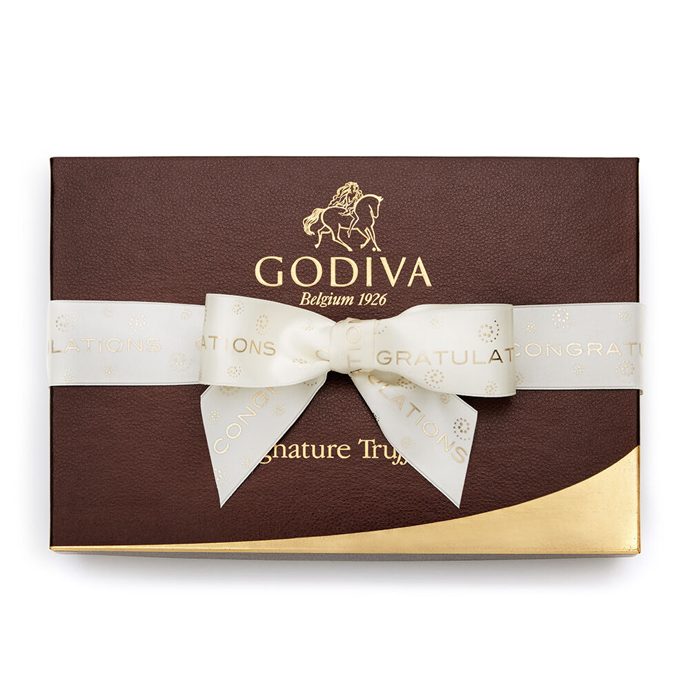 Signature Truffle Gift Box, Congratulations Ribbon, 24 pc.