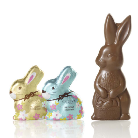 Solid Milk Chocolate Easter Bunny