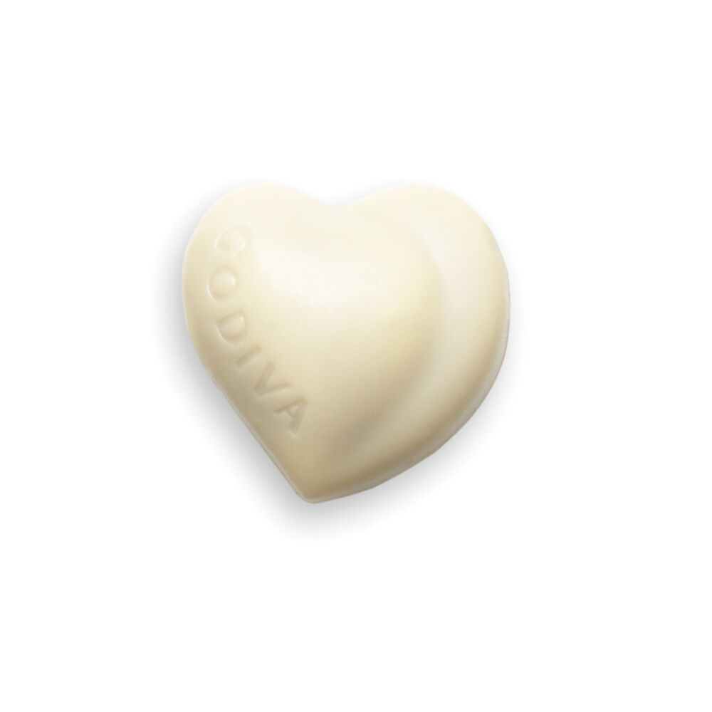 White Praliné Heart