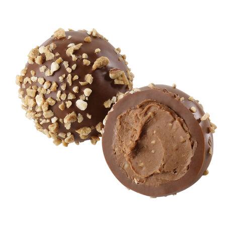 Hazelnut Praliné Truffle