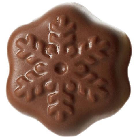 Mocha Snowflake
