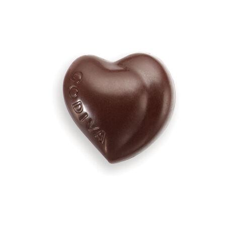 Milk Chocolate Heart in Pink Foil