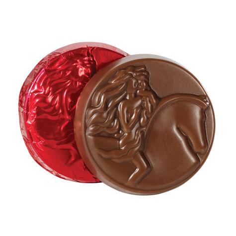 Milk Chocolate Medallion