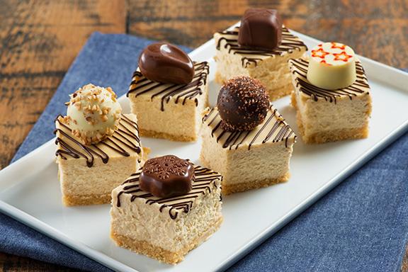 Tiramisu Cheesecake Bites