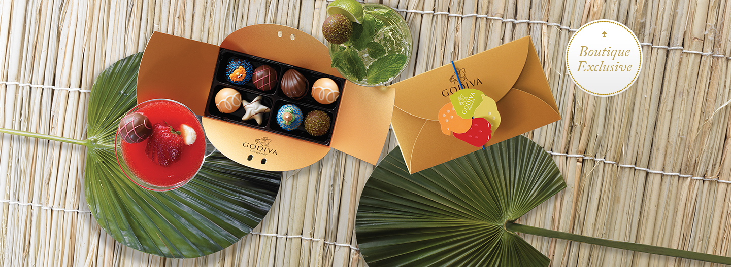 Create your own custom assortment at a local GODIVA boutique!