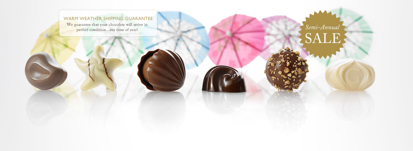Treat your guests to GODIVA ice cream, fruit and cocktail truffles.