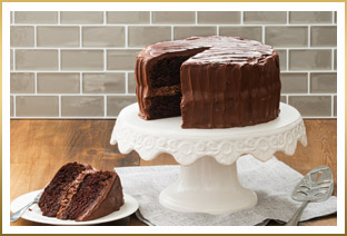 Seriously Chocolate Layer Cake