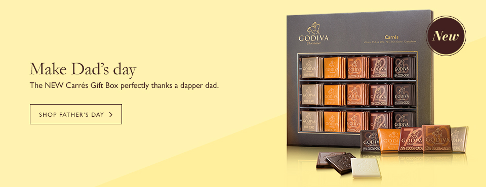 Find the perfect Father's Day Gift from GODIVA