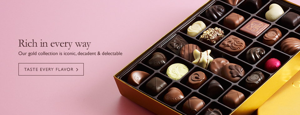 Gold Collection Chocolate Gift Assortments