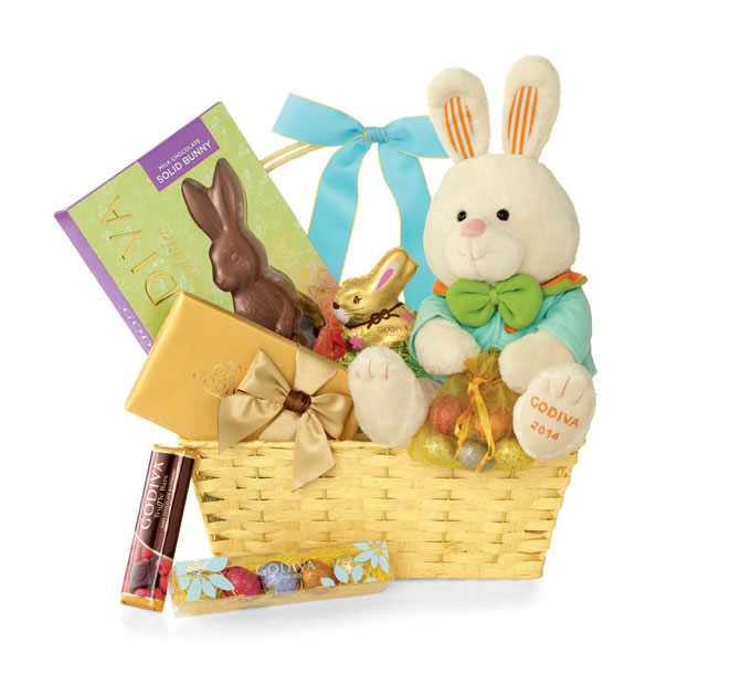 Chocolate Easter Baskets at GODIVA