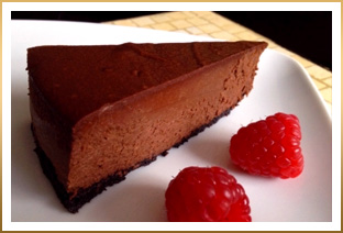 GODIVA Ultimate Chocolate Cheesecake