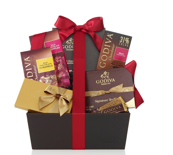 Valentine's Day Gift Baskets at GODIVA