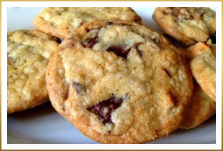 GODIVA Triple Chocolate Chunk Cookies