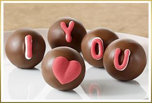 GODIVA Freshly Made I Love You Truffles