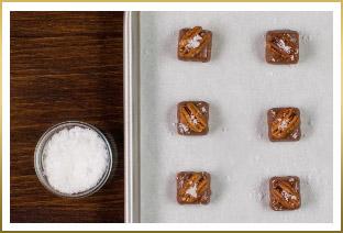 Super Simple Chocolate Pecan Chews