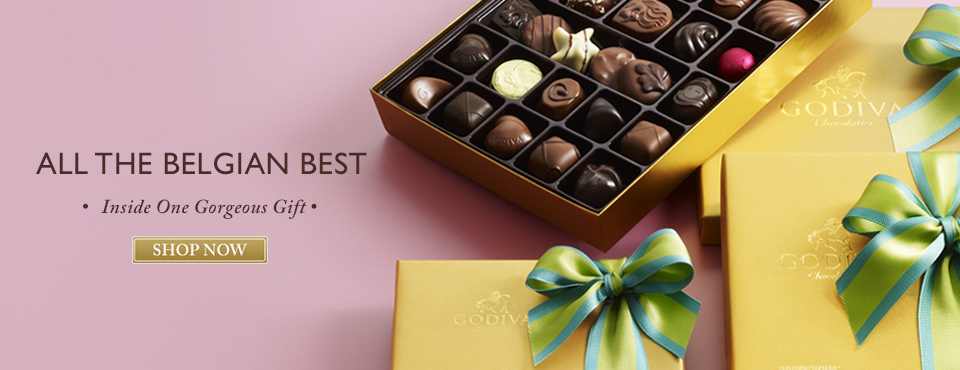Chocolate Spring Chocolate Assortments from GODIVA