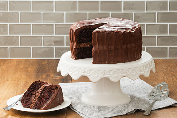 GODIVA's Seriously Chocolate Layer Cake