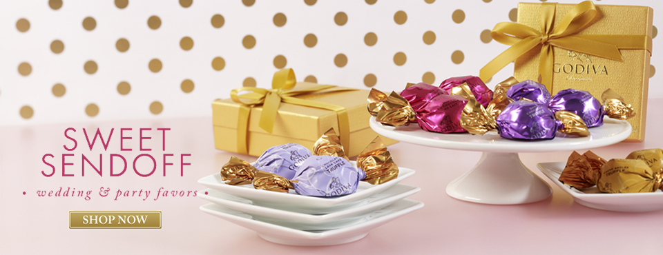 Chocolate Wedding and Party Favors