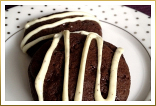 GODIVA Double Dark Chocolate Cookies