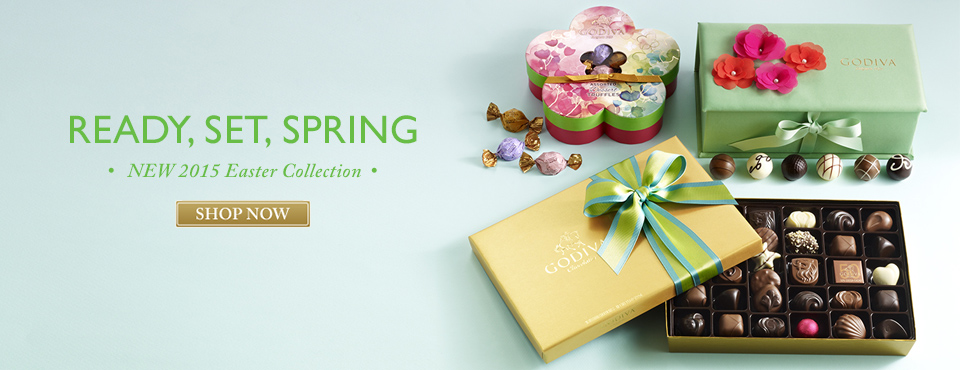Godiva Chocolate Spring Easter Gifts