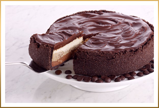 Triple Layer GODIVA Dream Cheesecake