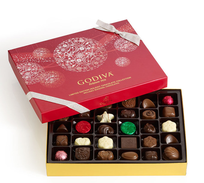 Chocolate Christmas Gifts at GODIVA