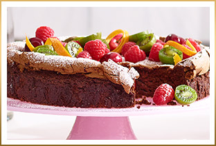 GODIVA Flourless Chocolate Cake