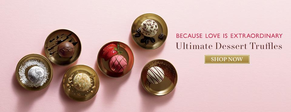 Chocolate Dessert Truffle Gift Boxes Godiva