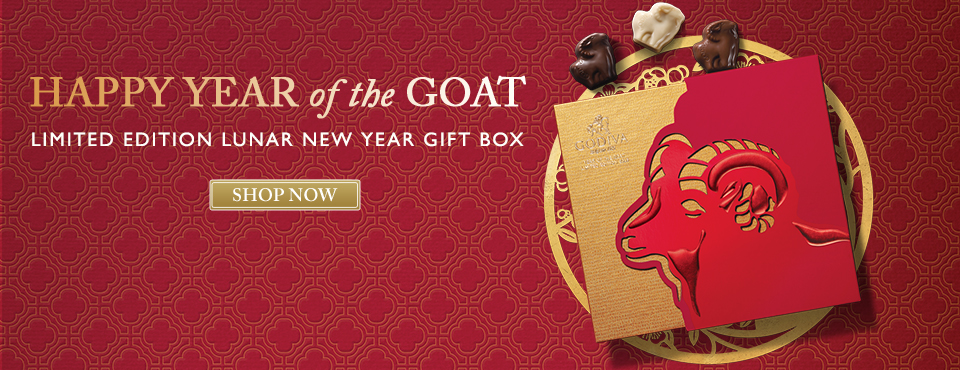 Chocolate Gifts for Lunar New Year - Year of the Goat