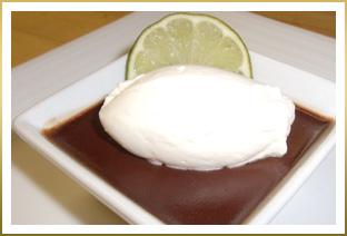 GODIVA Chocolate Lime Pots de Crème