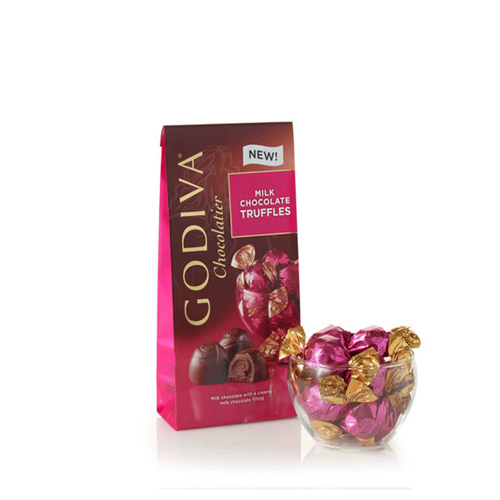 Assorted Chocolate Gold Gift Box 8 pc, Classic Ribbon | GODIVA