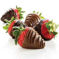 Gift Ideas for Him - Chocolate-Dipped Strawberries