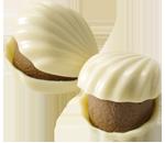 White Chocolate Pistachio Oyster Chocolate Piece