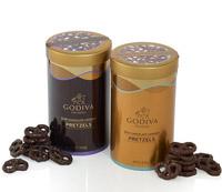 Gift Ideas for Him - Milk and Dark Chocolate Pretzels