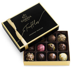 Signature Chocolate Truffles Gift Box, 12pc