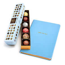 Own the Day Journal with Patisserie Dessert Truffle Flight, 6 pc.