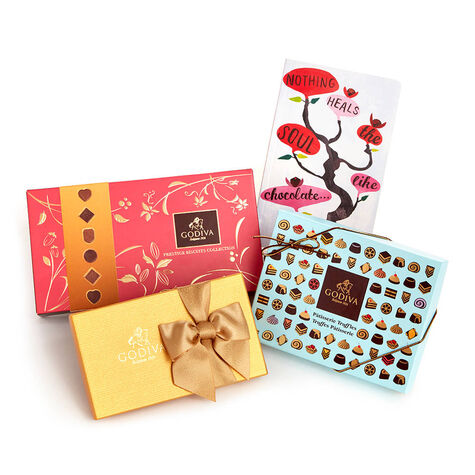 Delightful Desserts and Chocolate Gift Box