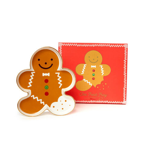 Gingerbread Tray with 19pc. Assorted Chocolate Gift Box