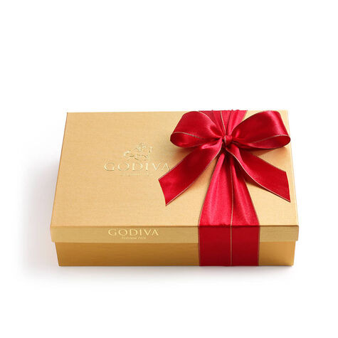 Assorted Chocolate Gold Gift Box, 36 pc and Assorted Chocolate Gold Gift Box, 70 pc.