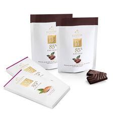 Pure 85% Dark Chocolate Bar & Coffee Mini Bar Gift Set