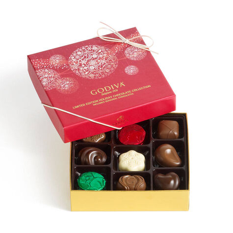 Holiday Assorted Chocolates Gift Box