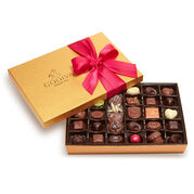 Assorted Chocolate Gold Gift Box, Summer Ribbon, 36 pc.