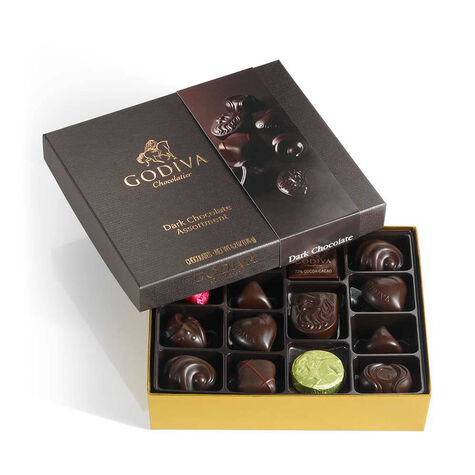 Dark Chocolate Gift Box, 16 pc.